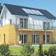Солнечный коллектор для сбора тепловой энергии Солнца фото