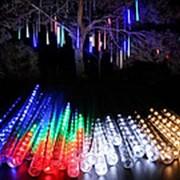 Светодиодная гирлянда Тающие сосульки 8 шт 30 см (разноцветный) фото