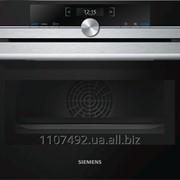 Компактная встраиваемая духовка с микроволновой печью Siemens CM633GBS1 фото