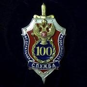 """Нагрудный знак """"100 лет ФСБ"""" фото"""