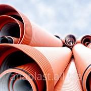 Труба гофрированная ПП для наружной канализации 500х5900 фото
