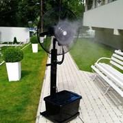 Аренда вентиляторов с капельным орошением фото