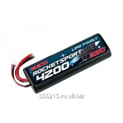 Аккумулятор Rocket Sport 4200 LiPo 7,4V (Tamiya,Dean*s,TRX, EC3 Venom Plug) фото