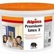 Краска латексная акриловая Альпина Капарол 5л Alpina Premiumlatex 3 фото