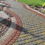 Укладка тротуарной плитки брусчатки в Актобе фото