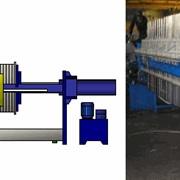 Фильтр-прессы ЧМ63/30, ЧМ80/30, ЧМ100/30, ЧМ125/30, ЧМ135/30, ЧМ150/30 камерные с боковой подвеской на базе плиты 1200 х 1200 мм фото
