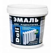 Эмаль для радиаторов акриловая Dali 1 кг. фото