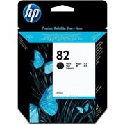 Картридж HP No. 82 Black Ink Cartridge - Inkjet - Black фото
