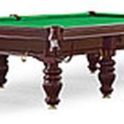 Бильярдный стол для русского бильярда Dynamic Prince 12 ф (махагон) фото