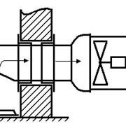 Стыковочный узел УС-1в (отток загазованного воздуха) фото
