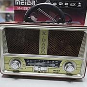 Радио ретро МП3 meier m-112BT фото