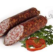Колбаса сырокопченая Свиная фото