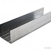 Профиль направляющий ПН-2 (50х40мм) 3м, (толщ. металла 0,6 мм) фото