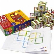 Умные кубики. Уши, лапы и хвосты. 50 игр для развития интеллекта фото