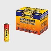 Батарейка 821340 ААА LR 3 S_4 Облик (827199) Alkaline алкалиновая (1.5v) (уп.96 шт.) мизинчиковая фото