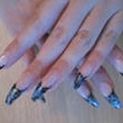 Наращивание ногтей гелевое фото