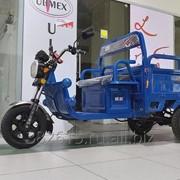 Грузовой электрический трицикл - грузоподъемность 500кг, Самосвал. фото