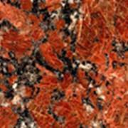Гранит красный Капустинский фото