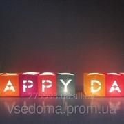 Набор Светокубиков Happy Day 8шт фото