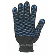 Перчатки трикотажные с ПВХ покрытием 5-и нитка фото