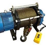 Лебедка электрическая 750 кг длина каната 100 м 380v фото